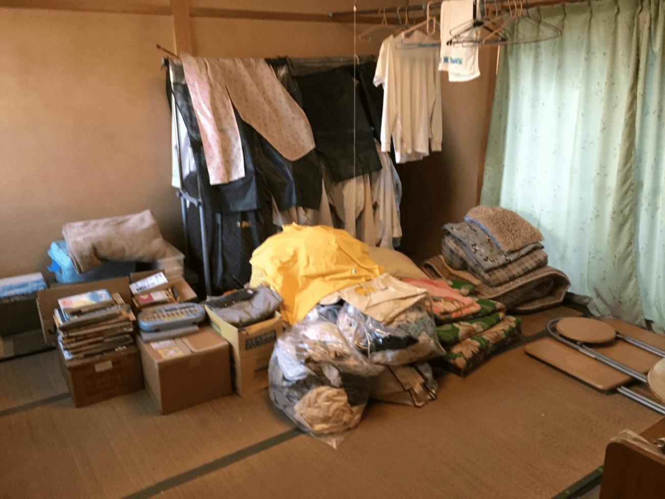 大阪で一軒家・一戸建ての片付け