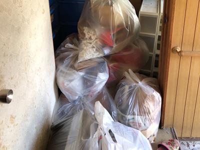 堺市で粗大ごみ・不用品回収を行いました
