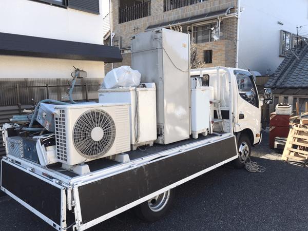 大阪で不用品回収に行ってきました
