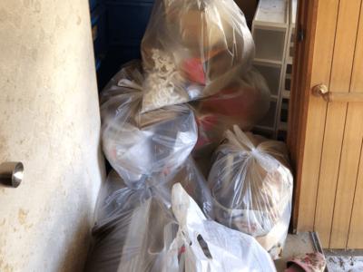 分別なし家庭ごみ・粗大ごみを出張回収しました