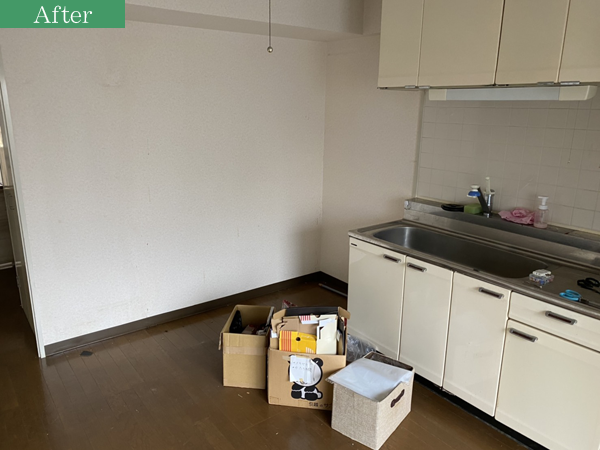 大阪市東淀川区で施設に入居による片付け作業