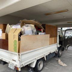 豊中市で不用品・粗大ごみ回収作業