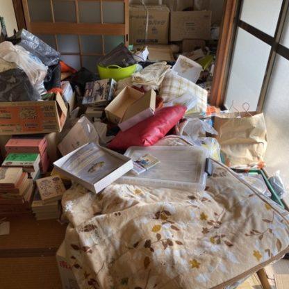 大阪市城東区で一軒家の片付け・不用品回収